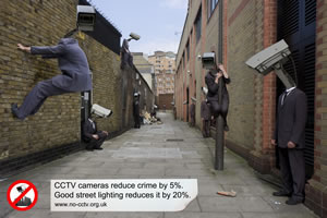 Good street lighting reduces cctv by 20%